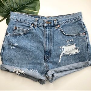 VINTAGE Levi's Cut-Off Denim Shorts